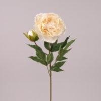 Цветок Пион кремовый 72115