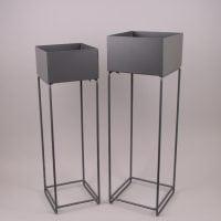 Комплект металлических подставок для цветов 2 шт. 24788
