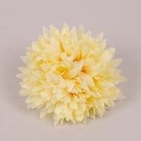 Головка Хризантеми пастельно-жовта 23801
