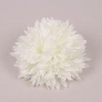 Головка Хризантемы бело-зеленая 23805
