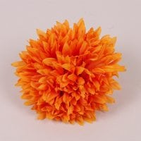 Головка Хризантемы оранжевая 23806