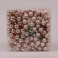 Шарики стеклянные 2 см. медные (48 пучков-144 шарика) 40210