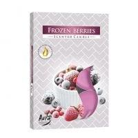Свеча чайная таблетка ароматическая Bispol Замороженные ягоды D-3,9 см. 6 шт. 27340