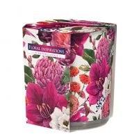 Свеча ароматическая Bispol Цветочное вдохновение 27352