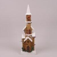 Деревянный Домик с LED-подсветкой 26498