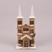 Деревянный Домик с LED-подсветкой 26604