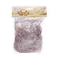 Мишура праздничная розовая 20 гр. 11666