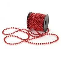 Намисто пластикове червоне 5 мм. х 10 м. 11709
