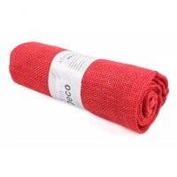 Ткань из мешковины красная 90 см. х 3 м . 5053