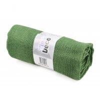 Ткань из мешковины зеленая 90 см. х 3 м . 5059