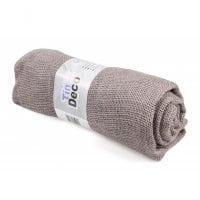 Ткань из мешковины фиолетовая 90 см. х 3 м . 5060