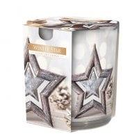 Свеча ароматическая Bispol Зимняя звезда 27391