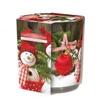 Свеча ароматическая Bispol Счастливого Рождества 27392