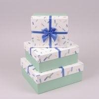 Комплект коробок для подарунків 3 шт. 41218