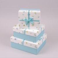 Комплект коробок для подарунків 3 шт. 41219