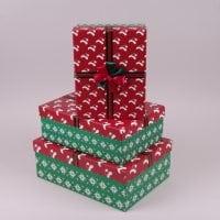 Комплект коробок для подарунків 3 шт. 41221