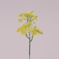 Гілочка декоративна жовта 71999