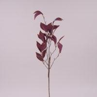 Ветка декоративная с бордовыми листьями 71992