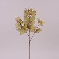 Ветка декоративная с оливковыми листьями 72002