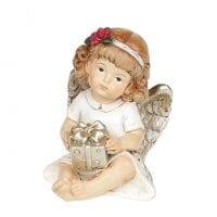 Фигурка новогодняя Ангелочек 7 см. 11728