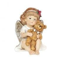 Фигурка новогодняя Ангелочек 7 см. 11729