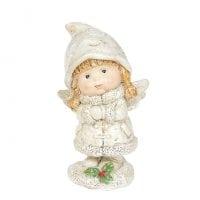 Фигурка новогодняя Ангелочек 11 см. 11736