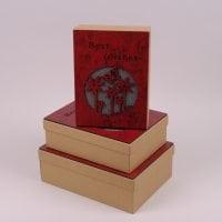 Комплект коробок для подарунків 3 шт. 41266