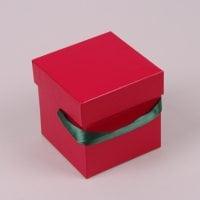 Коробка для квітів червона 5 шт. (ціна за 1 шт.) 41278