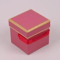 Коробка для квітів червона 5 шт. (ціна за 1 шт.) 41292