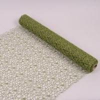 Сітка флористична зелена 50 см. х 4,5 м. 41255