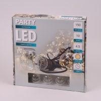 Гирлянда LED Лампочки теплый свет 10 ламп 4,5 м. 45000