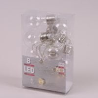 Лампочки LED 8 ламп теплый свет 1,4 м. 40852