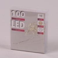 Підсвітка LED тепле світло 100 світлодіодів 10 м. 45028