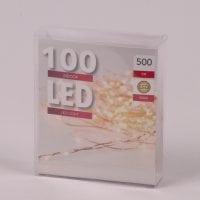 Підсвітка LED тепле світло 100 світлодіодів 5 м. 45033