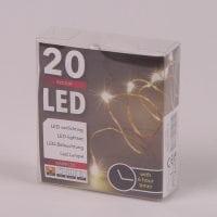 Підсвітка LED тепле світло 20 світлодіодів 2 м. 45034