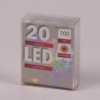 Підсвічування LED різнокольорова 20 світлодіодів 1 м. 45035