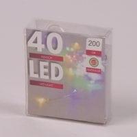Підсвічування LED різнокольорова 40 світлодіодів 2 м. 45036