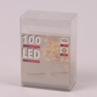 Гірлянда LED Зірочки тепле світло 100 світлодіодів 5 м. 45037