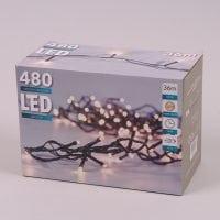 Гірлянда LED тепле світло 480 діодів 36 м. 45002