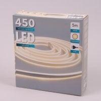 Шнур неоновий тепле світло 450 діодів 5 м. 45068