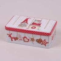 Коробка металева новорічна Гном 45051