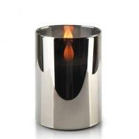 Свічка LED в склі SALMA METALLIC D-7,5 см. H-10 см. 30781