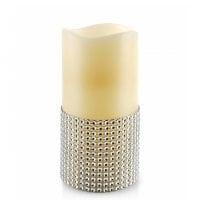Свеча LED восковая IDALIA D-7,5 см. H-15 см. 30789