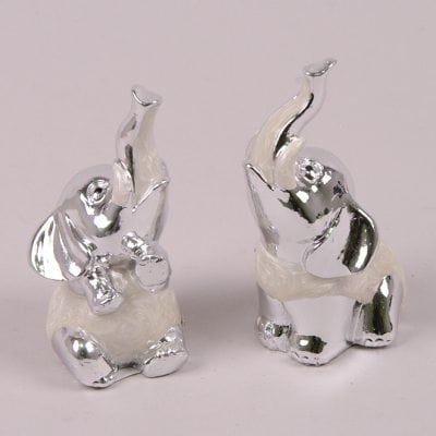 Фото Фигурка Слон серебряный (цена за 1 шт.) 26880