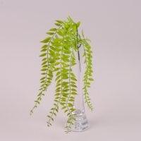 Гілочка декоративна звисаюча зелена 50 см. 72087