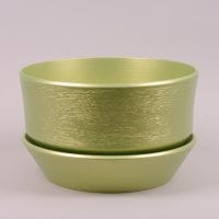 Горшок керамический Бокарнея люкс салатовый 8л