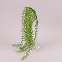 Гілка декоративна звисаюча зелена 80 см. 72316