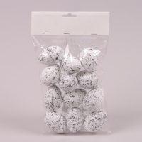 Яйця декоративні для великодніх композицій 4х6 см. (12 шт.) 44118