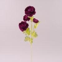 Цветок Камелия темно-фиолетовый 72260