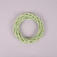 Вінок з лози світло-зелений 20 см. 39070